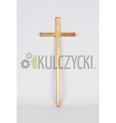 Krzyż mosiężny