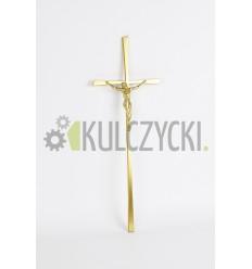 Krzyż z pasyjką złoty