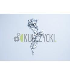 Róża mosiężna 20cm chrom