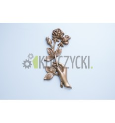 Róża mosiężna ręka