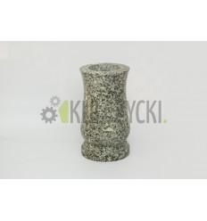 wazon granitowy brąz królewski