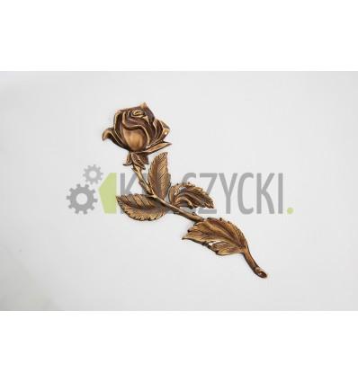 Róża mosiężna 32cm