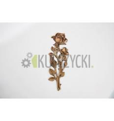 Róża mosiężna 33cm